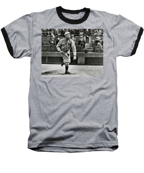 Babe Ruth - Pitcher Boston Red Sox  1915 Baseball T-Shirt by Daniel Hagerman