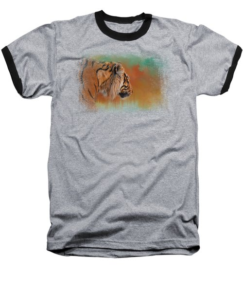 Bengal Energy Baseball T-Shirt by Jai Johnson