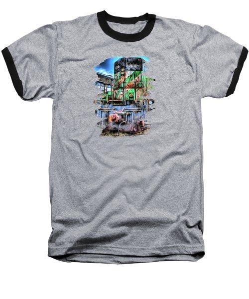 Big Bad 6116 Baseball T-Shirt by Thom Zehrfeld