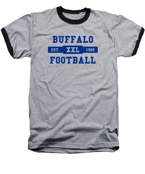 Bills Retro Shirt Baseball T-Shirt by Joe Hamilton