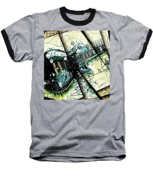 Black Beauty C 1  Baseball T-Shirt by Gary Bodnar