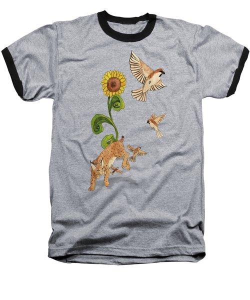 Bobcats And Beeswax Baseball T-Shirt by Teighlor Chaney