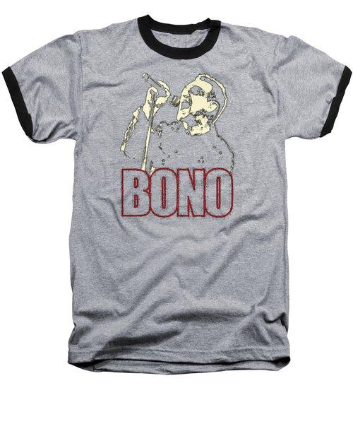 Bono Tour 2016 Baseball T-Shirt by Gandi Rismawan