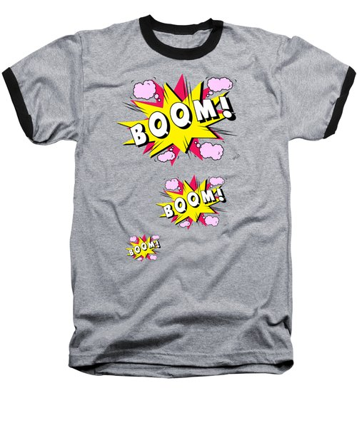 Boom Comics Baseball T-Shirt by Mark Ashkenazi