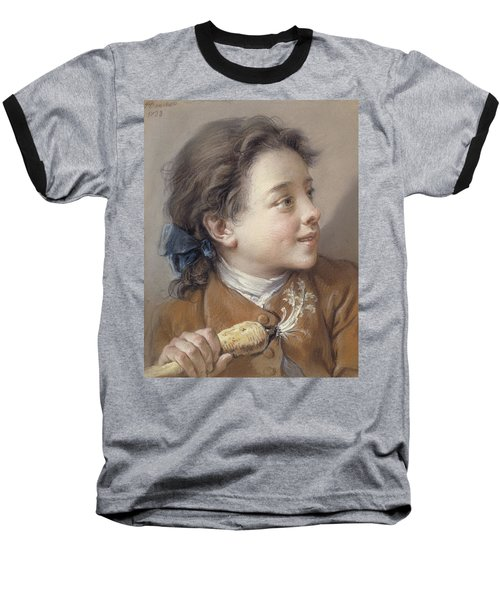Boy With A Carrot, 1738 Baseball T-Shirt by Francois Boucher