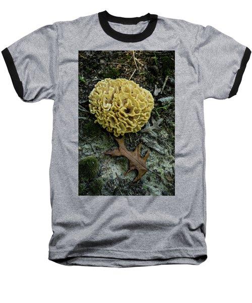 Brain Or Cauliflower Fungus Baseball T-Shirt by Douglas Barnett