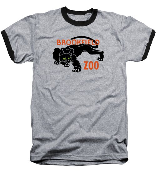 Brookfield Zoo Wpa Baseball T-Shirt by War Is Hell Store