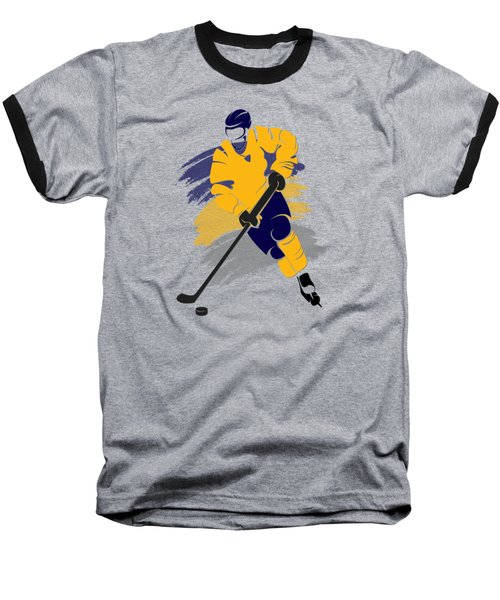 Buffalo Sabres Player Shirt Baseball T-Shirt by Joe Hamilton