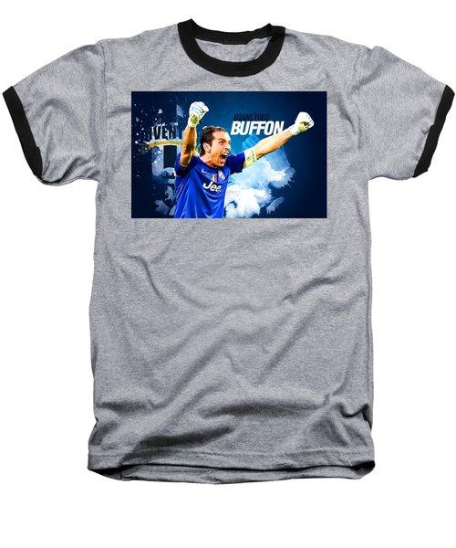 Buffon Baseball T-Shirt by Semih Yurdabak