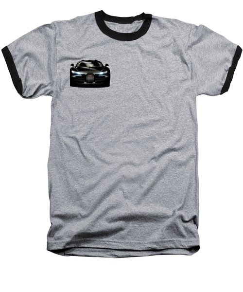 Bugatti Veyron Baseball T-Shirt by Mark Rogan