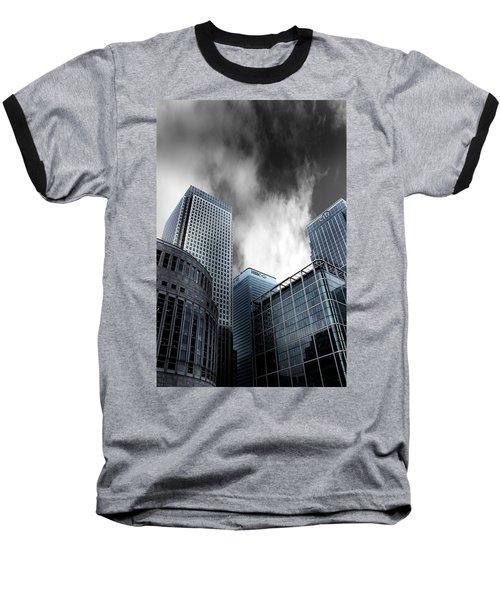 Canary Wharf Baseball T-Shirt by Martin Newman