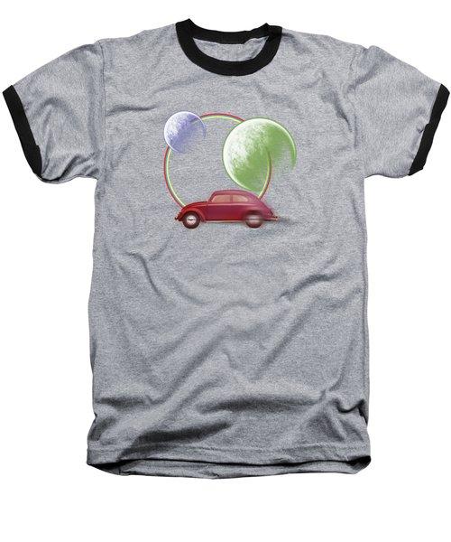 Car Space  Baseball T-Shirt by Mark Ashkenazi