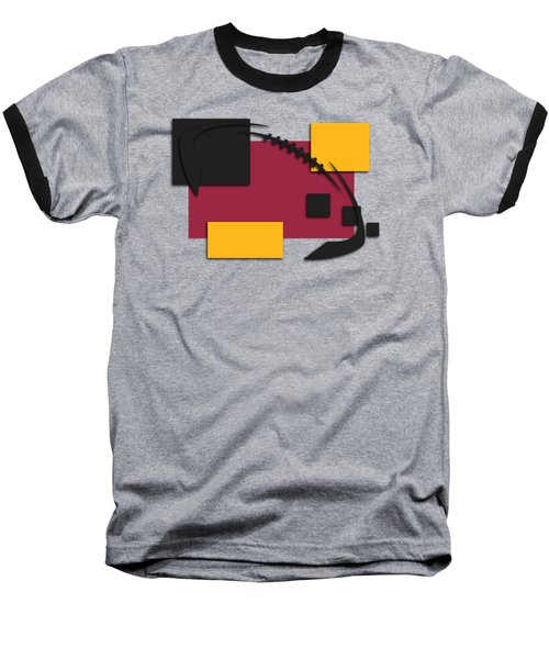 Cardinals Abstract Shirt Baseball T-Shirt by Joe Hamilton