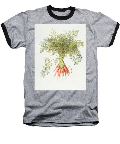 Carrots Baseball T-Shirt by Margaret Ann Eden