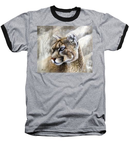 Catamount Baseball T-Shirt by Sandi Baker