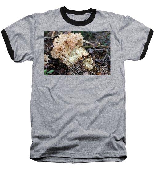 Cauliflower Fungus Baseball T-Shirt by Michal Boubin
