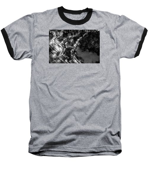Baseball T-Shirt featuring the photograph Central Park Trails by M G Whittingham