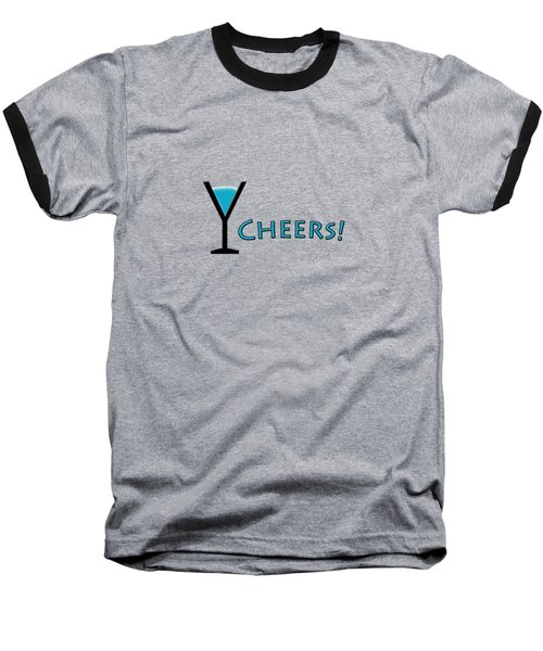 Cheers Baseball T-Shirt by Bill Owen