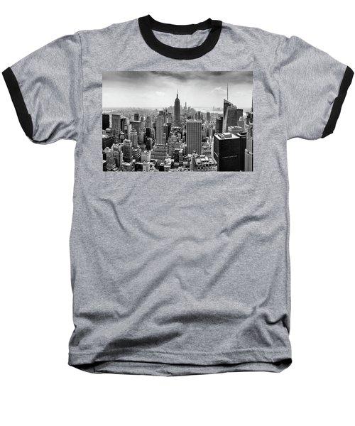 Classic New York  Baseball T-Shirt by Az Jackson