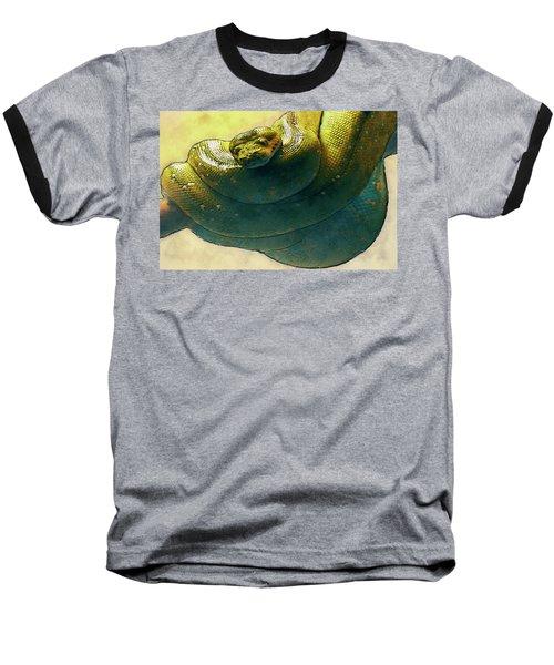 Coiled Baseball T-Shirt by Jack Zulli