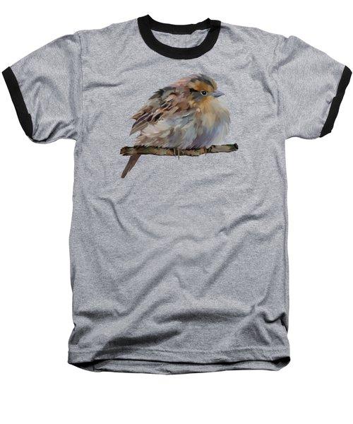 Colourful Sparrow Baseball T-Shirt by Bamalam  Photography