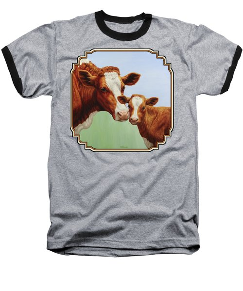 Cream And Sugar Baseball T-Shirt by Crista Forest