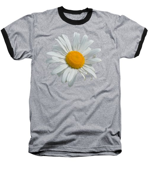 Daisy Baseball T-Shirt by Scott Carruthers