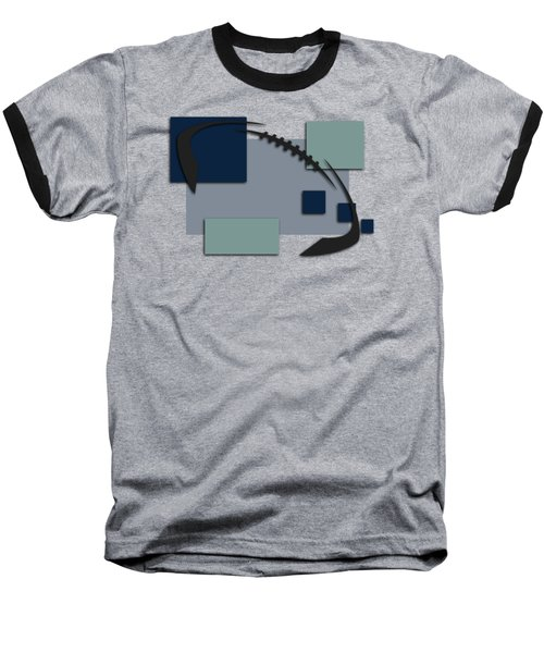 Dallas Cowboys Abstract Shirt Baseball T-Shirt by Joe Hamilton