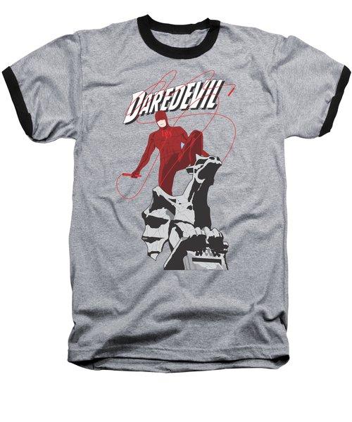 Daredevil Baseball T-Shirt by Troy Arthur Graphics