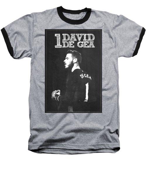 David De Gea Baseball T-Shirt by Semih Yurdabak