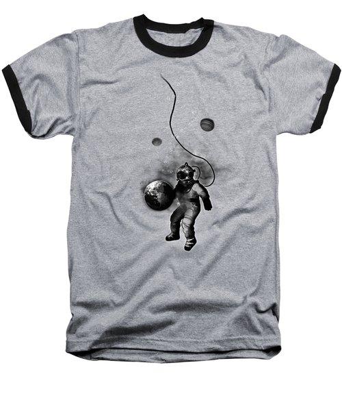 Deep Sea Space Diver Baseball T-Shirt by Nicklas Gustafsson