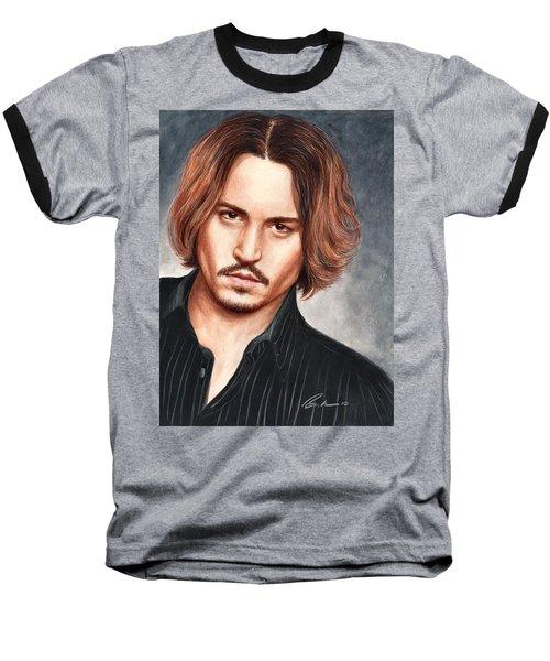 Depp Baseball T-Shirt by Bruce Lennon