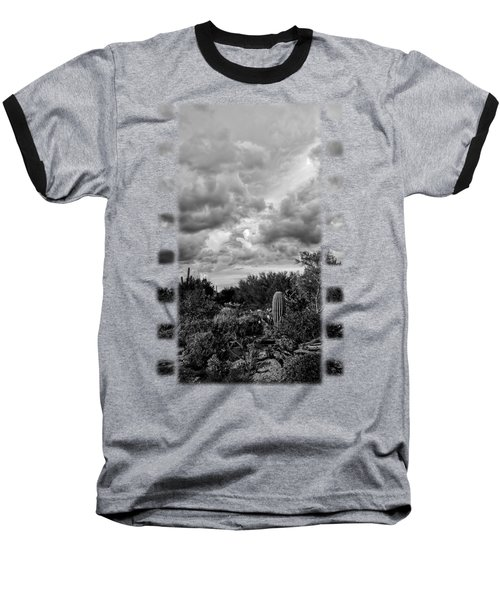 Desert In Clouds V15 Baseball T-Shirt by Mark Myhaver
