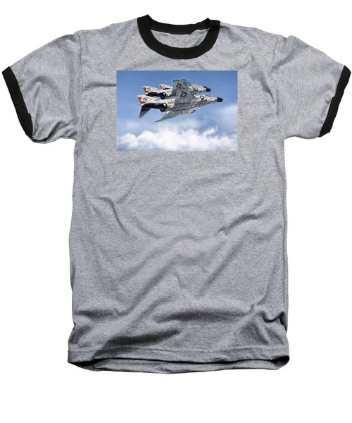 Diamonback Echelon Baseball T-Shirt by Peter Chilelli