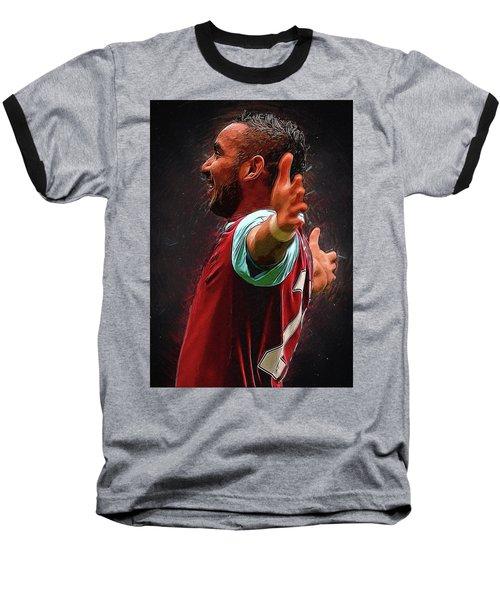 Dimitri Payet Baseball T-Shirt by Semih Yurdabak