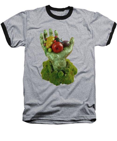 Divine Nutrition Baseball T-Shirt by Przemyslaw Stanuch