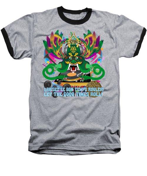 Dj Dragon6 King All Products Baseball T-Shirt by Bill Campitelle