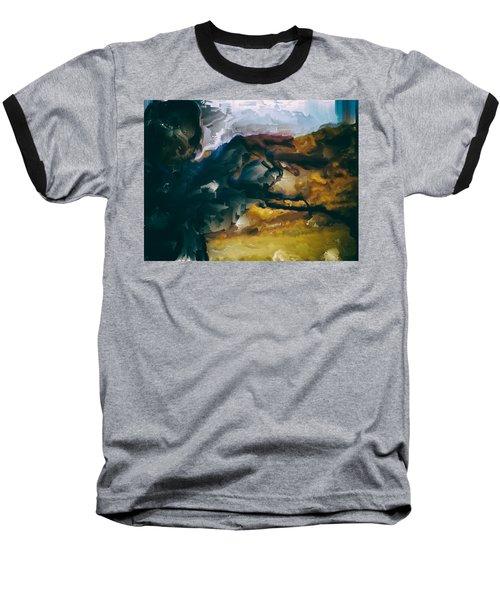 Donald Rumsfeld Gwot Vision Baseball T-Shirt by Brian Reaves