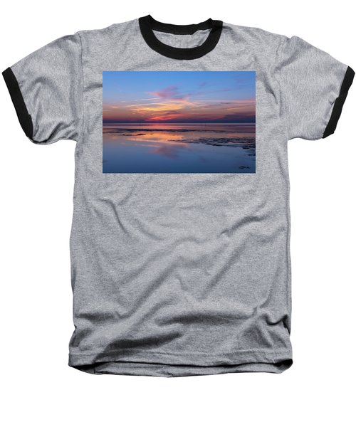 Baseball T-Shirt featuring the photograph Draw The Line by Thierry Bouriat