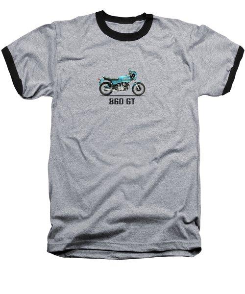 Ducati 860 Gt 1975 Baseball T-Shirt by Mark Rogan