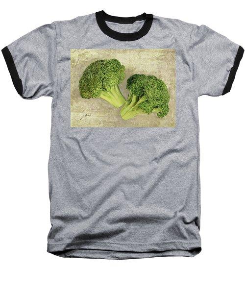 Due Broccoletti Baseball T-Shirt by Guido Borelli