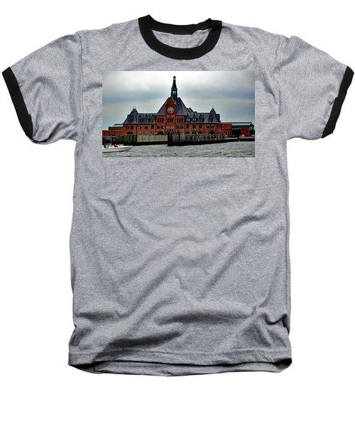 Ellis Island No. 49 Baseball T-Shirt by Sandy Taylor