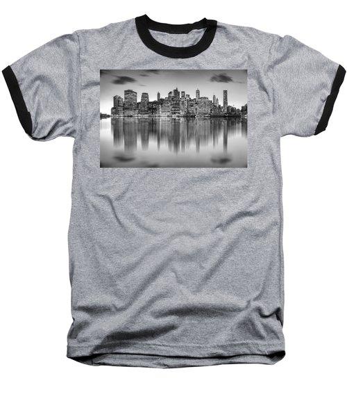 Enchanted City Baseball T-Shirt by Az Jackson