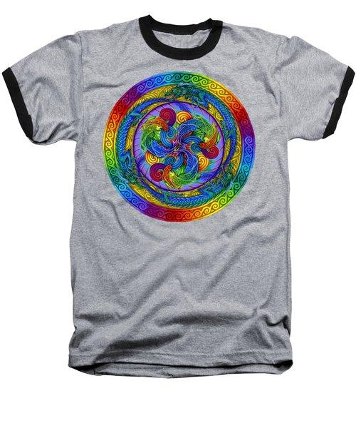 Epiphany Baseball T-Shirt by Rebecca Wang