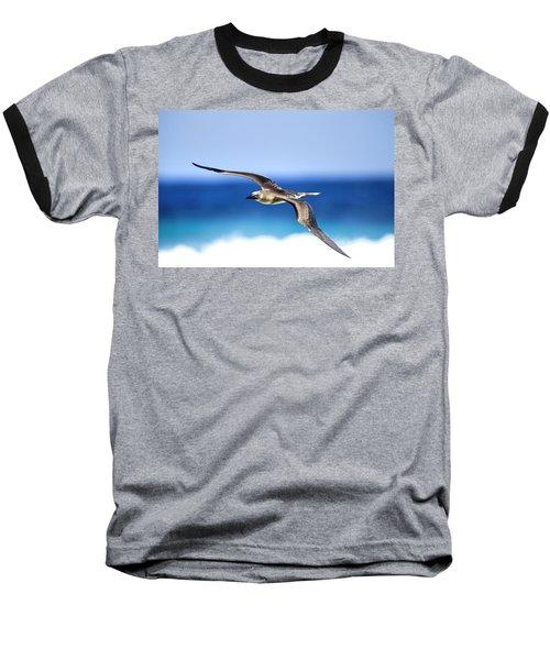 Eye Contact Baseball T-Shirt by Sean Davey