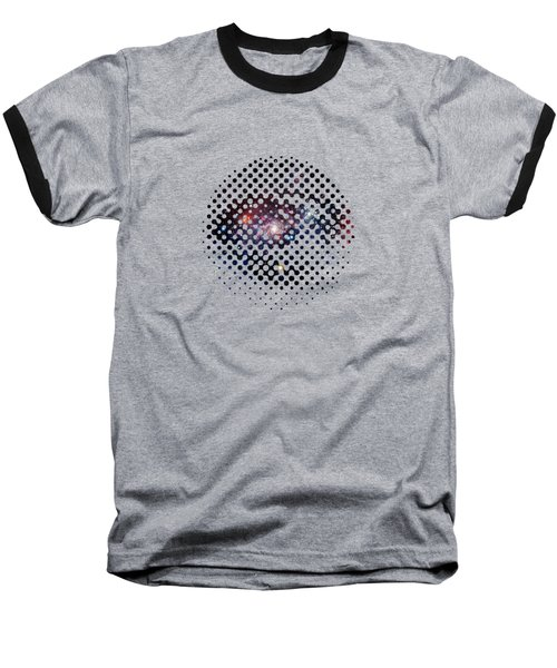 Eye Of Galaxy Baseball T-Shirt by Illustratorial Pulse