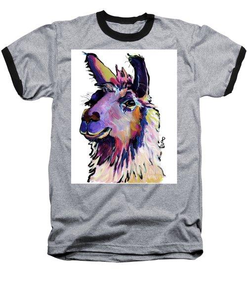 Fabio Baseball T-Shirt by Pat Saunders-White