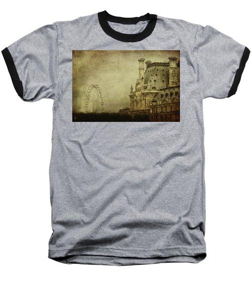 Fairground Baseball T-Shirt by Andrew Paranavitana