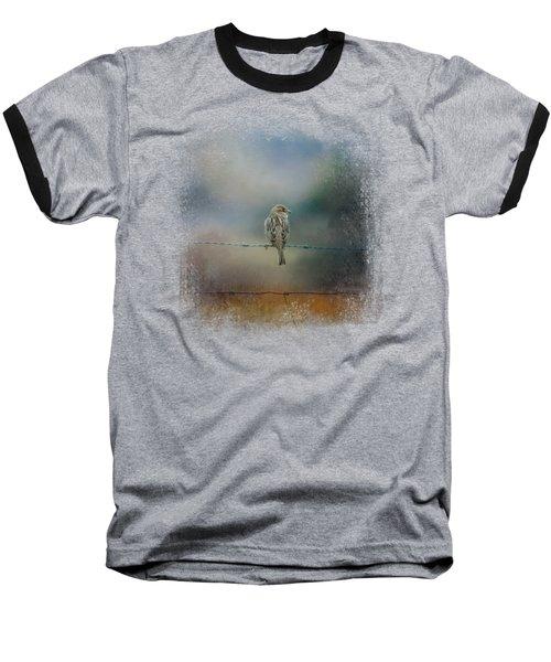 Fence Master Baseball T-Shirt by Jai Johnson