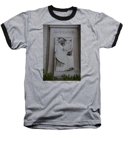 Fine Art Library Penn State  Baseball T-Shirt by John McGraw